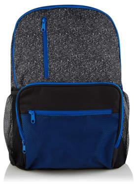 George Black Contrast Trim Backpack