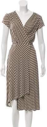 Tory Burch Printed Wrap Dress w/ Tags