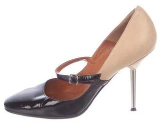 Lanvin Patent Leather Mary Jane Pumps