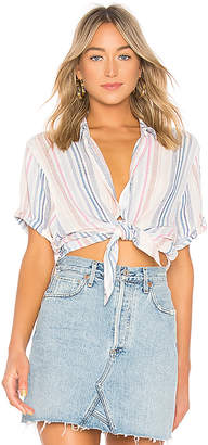 Splendid Arco Iris Striped Shirt