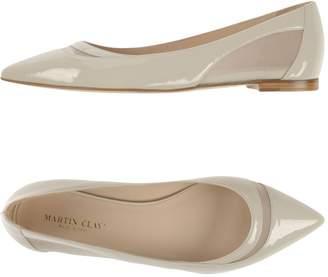 Martin Clay Ballet flats