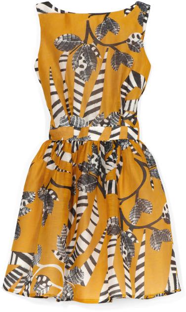 Thakoon Backless Flared Dress
