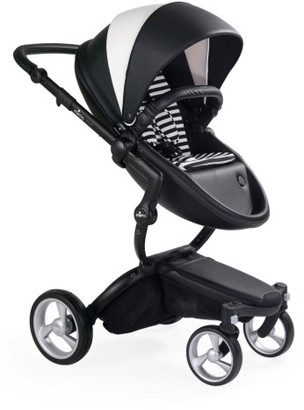 Infant Mima Xari Black Frame Stroller With Reversible Reclining Seat & Carrycot $1,424 thestylecure.com
