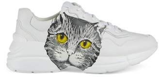 Gucci Women's Rhyton sneaker with Mystic Cat