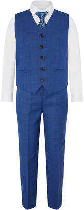 Boys Waistcoat Shirt Tie And Trousers Set - ShopStyle UK f87b6cb0a
