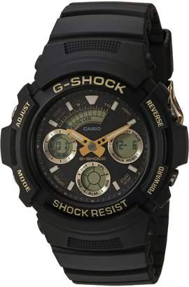 Casio Men's AW-591GBX-1A9CR G SHOCK Analog-Digital Display Quartz Black Watch