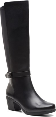 Clarks Lindel Knee High Boot