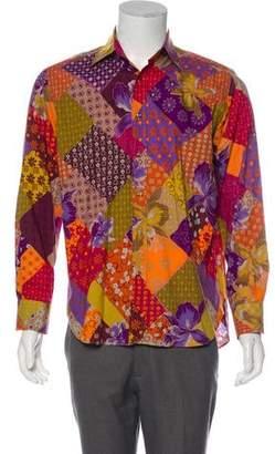 69ad28729e6eb Etro Floral Print Button-Up Shirt