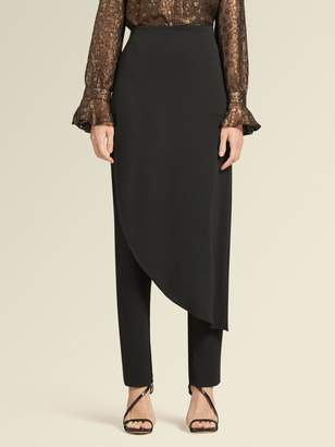 DKNY Pant With Skirt Overlay