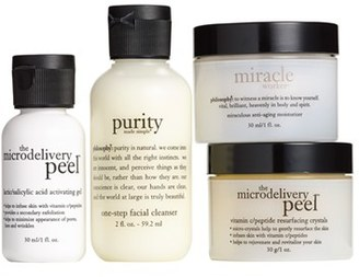 Philosophy 'Cleanse, Peel, Treat' Trial Kit $55 thestylecure.com