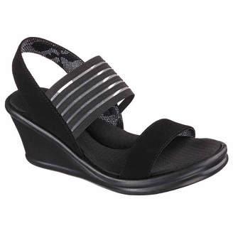 Skechers Womens Rumblers Wedge Sandals