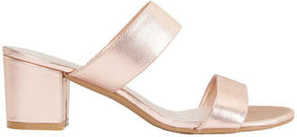Ace Rose Gold Metallic Sandal