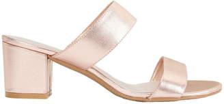 Ace Rose Gold Metallic Sandal