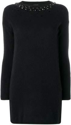 Pinko embellished knitted dress