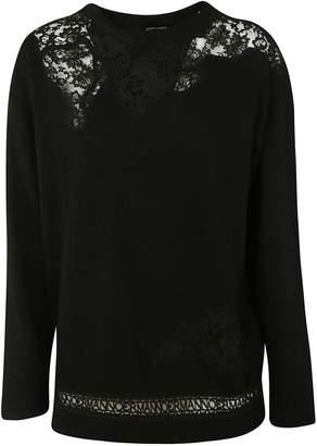Ermanno Scervino Mesh Sweater