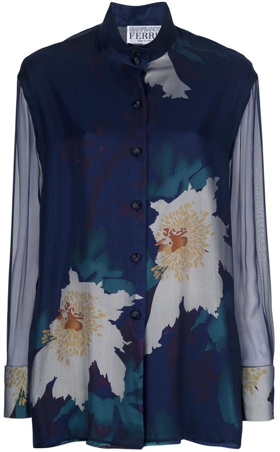 Gianfranco Ferre Vintage floral shirt