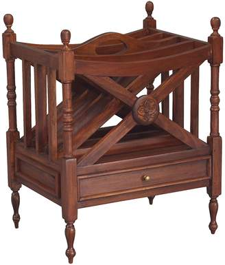 Kayu Estate Decorative Storage Baskets Niran Magazine Rack, CF Mahagony