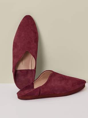 Reformation Carrie Forbes Babouche Flats