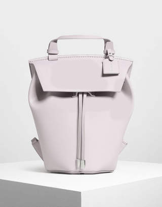Charles & Keith Classic Drawstring Backpack