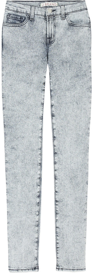 J Brand Acid wash skinny jeans