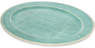 Carlisle Food Service Products Grove Melamine Oval Serving Tray (Set of 4)