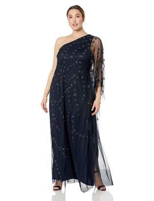 059c7fa61232 Adrianna Papell Women's Plus Size Long Beaded Kaftan