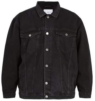 Raey - Oversized Denim Jacket - Mens - Black