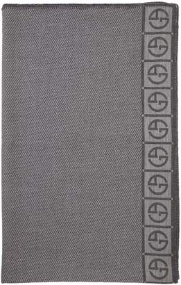 Armani Casa Armani/Casa Editore Wool Throw Blanket