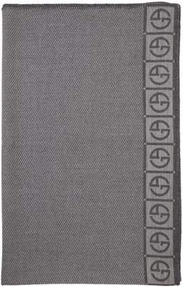 Armani Casa Editore Wool Throw Blanket