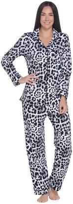 Beauty Sleep By Bedhead Beauty Sleep by BedHead Cotton Stretch Notch Collar Pajama Set