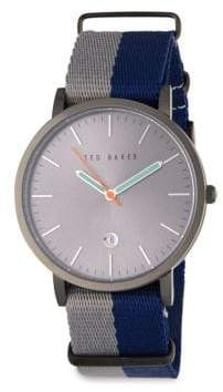 Ted Baker Stainless Steel Quartz Watch