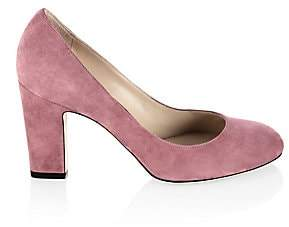 Jimmy Choo Women's Billie Block-Heel Suede Pumps