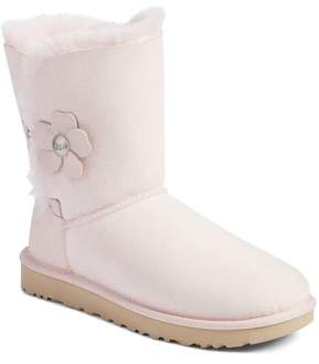 UGG Bailey Button Poppy Genuine Shearling Boot