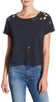 Mother The Slightly Faithful Cropped Tee