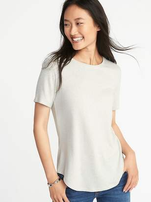 Old Navy Luxe Soft-Spun Tee for Women