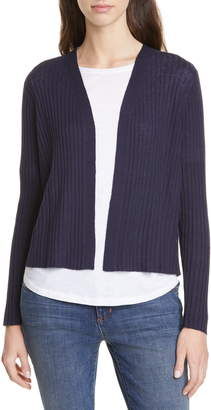 Eileen Fisher Simple Organic Linen & Cotton Cardigan
