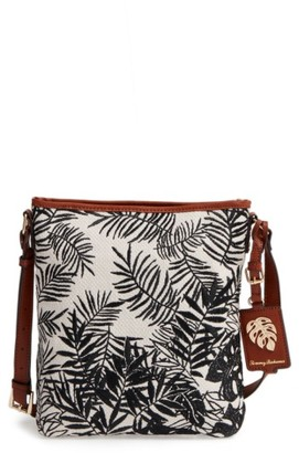 Tommy Bahama Palm Beach Crossbody Bag - Black $98 thestylecure.com