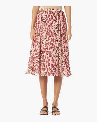 Carolina Herrera Gathered Midi Skirt
