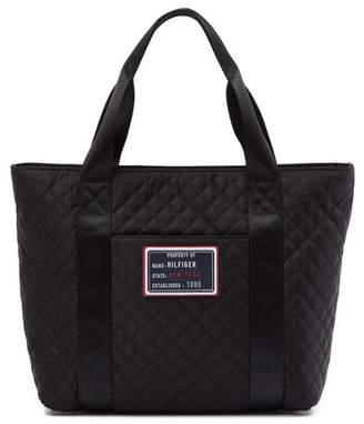 Tommy Hilfiger Quilted Shopper Tote
