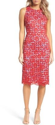 Women's Maggy London Lace Midi Dress $168 thestylecure.com