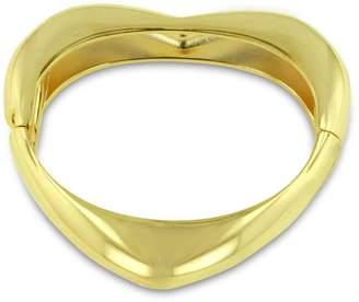 Passiana Gold Heart Bangle