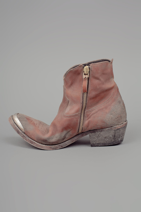 Golden Goose Young Boots Tan
