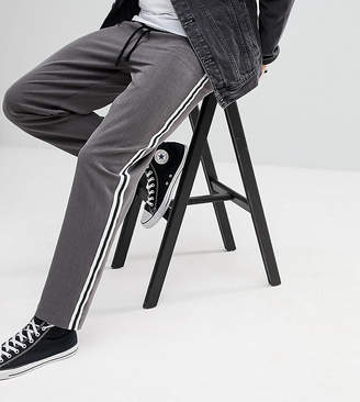 Reclaimed Vintage Inspired Relaxed Pant With Side Tape Detail