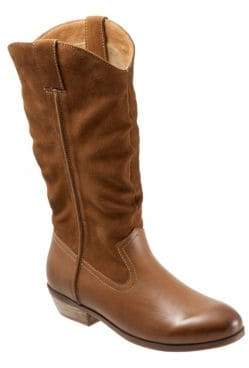 SoftWalk Rock Creek Leather Mid-Calf Boots