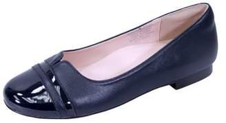 Peerage PEERAGE Marina (FT6044) Women Extra Wide Width Round Toe Flats NAVY 7