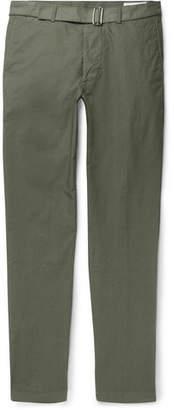 Officine Generale Julian Garment-Dyed Cotton-Twill Chinos