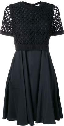 Kenzo black loose knit dress