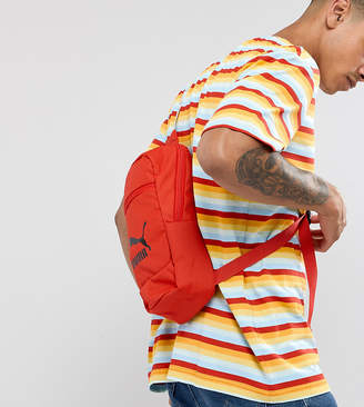 Puma Cross Body Bag In Red Exclusive To ASOS