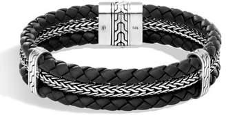 John Hardy Men's Classic Chain Woven Bracelet