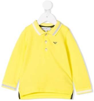 Emporio Armani Kids long-sleeve polo shirt